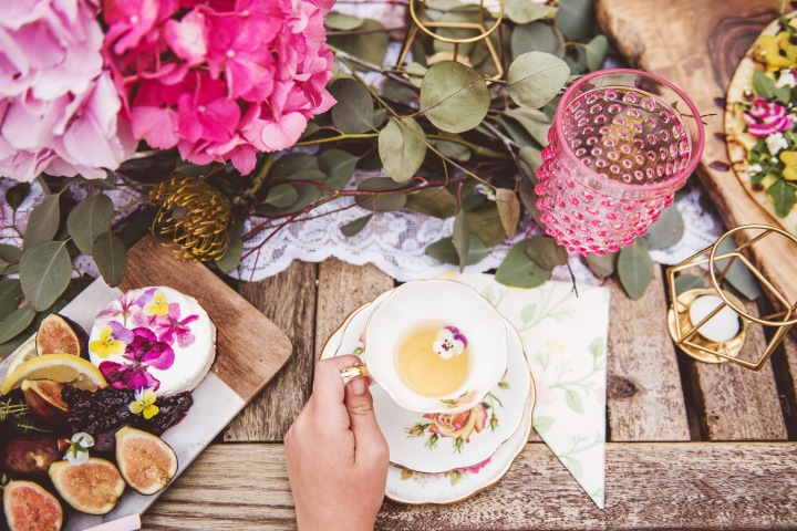 Blustery Boho-Chic Tea Party